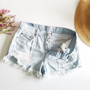 American Eagle | Tomgirl Shortie Shorts Size 2